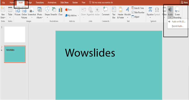 How to Add and Format Audio Files in PowerPoint Presentations